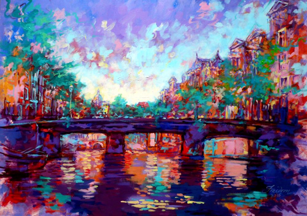 herengracht-100-x140-cm-acrylic-on-canvas-march-2015