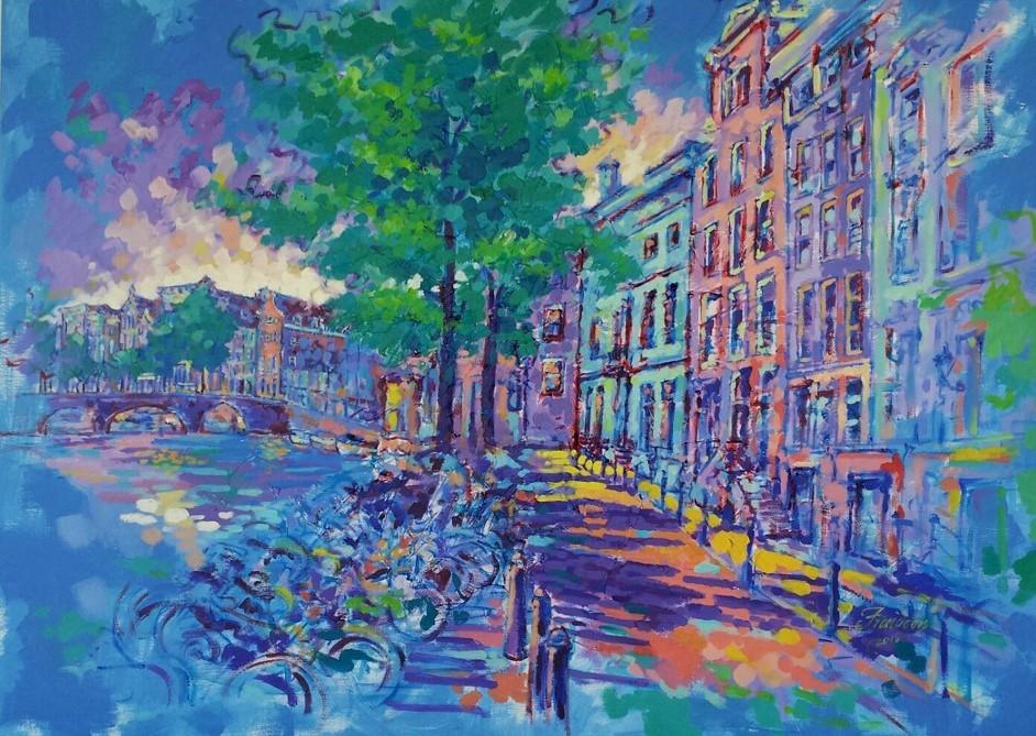 keizersgracht-amsterdam-100x140-cm-acrylic-on-canvas-may-2015