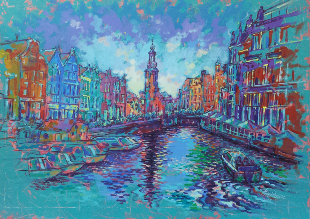 muntplein-mint-square-amsterdam-100x140cm-acrylic-on-canvas