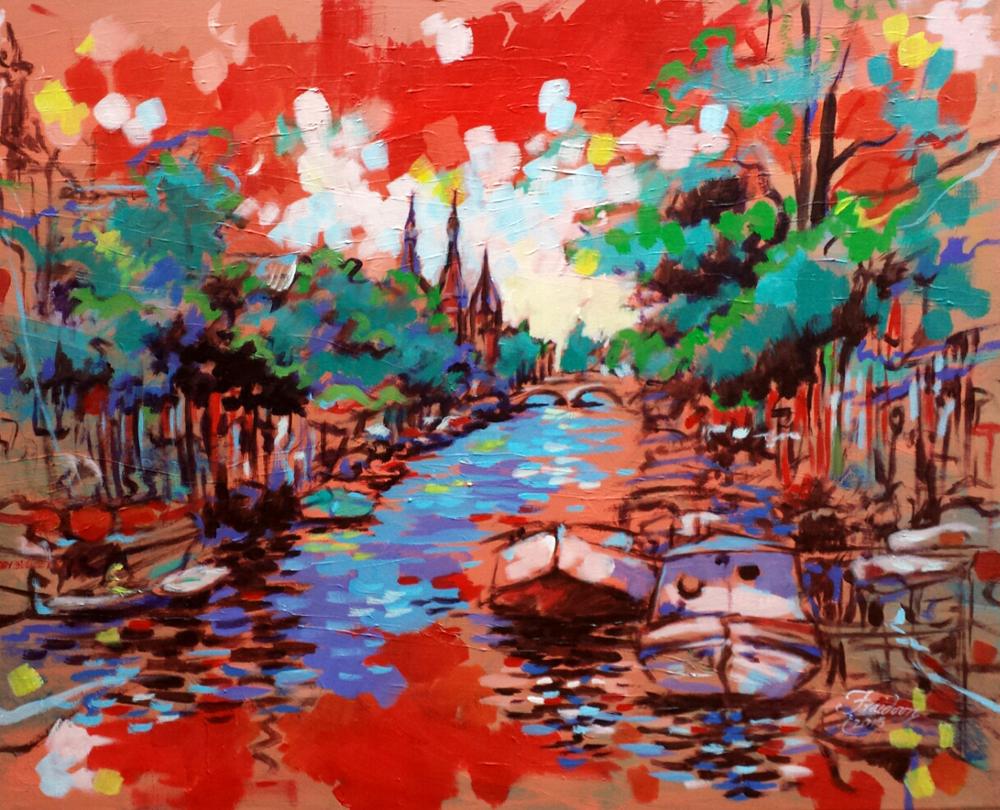 the-keizersgracht-amsterdam-80x100cm-acrylic-on-canvas-2-2-2015