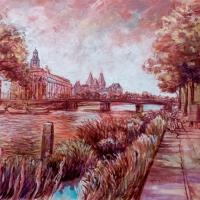 Rijksmuseum-Acrylic-on-cardboard-40x70cm-09-2019