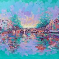 herengracht-amsterdam-100x140cm-mixed-media-on-canvas-4-2015
