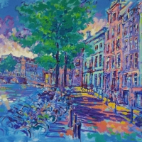 keizersgracht-amsterdam-100x140-cm-acrylic-on-canvas-may-2015