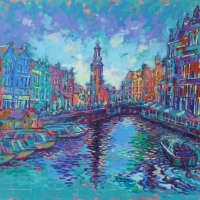 muntplein-mint-square-amsterdam-100x140cm-acrylic-on-canvas
